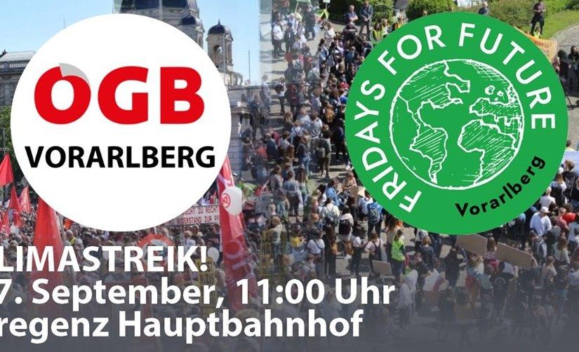 Mario Lechner: Rede beim Klimastreik für Workers forFuture
